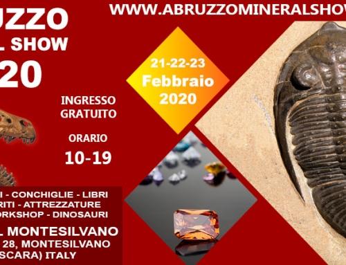 Abruzzo Mineral Show 2020 – Montesilvano 21-23 Febbraio