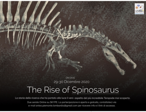 The Rise of Spinosaurus 29-30 Dicembre 2020
